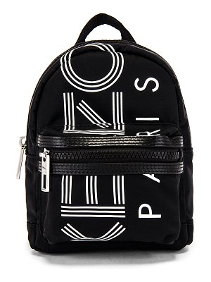 Kenzo sport logo print mini backpack