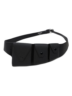 Kenzo Utility leather belt bag