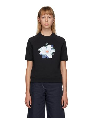 Kenzo vans edition floral short sleeve sweatshirt