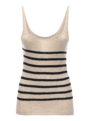 KHAITE Betty cashmere knit tank top