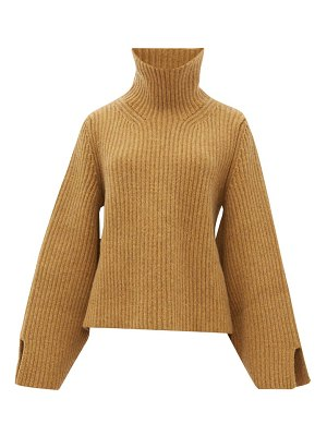 KHAITE molly roll neck cashmere sweater