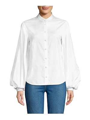 KHAITE willa button-down shirt