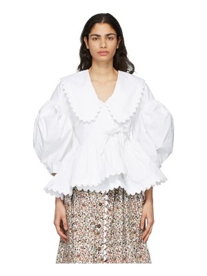 Kika Vargas shona removable collar blouse