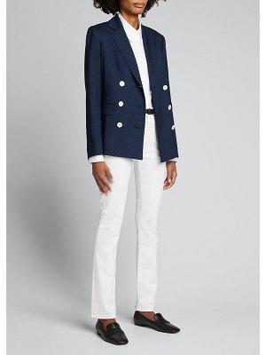 Kiton Double-Breasted Cashmere-Blend Jacket