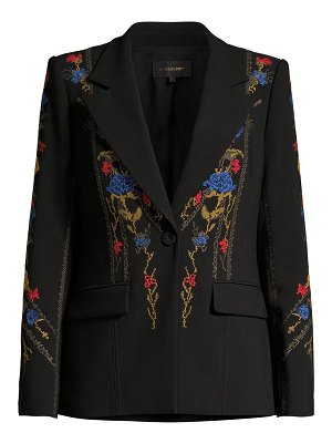 Kobi Halperin carolyn floral embroidered jacket