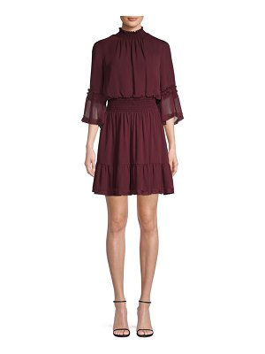 Kobi Halperin Lacie Silk Smocked Dress
