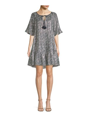 Kobi Halperin Paisley-Print Shift Dress
