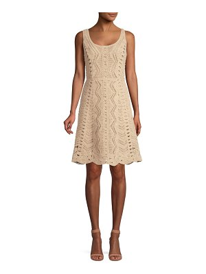 Kobi Halperin Sasha Cotton Crochet Dress