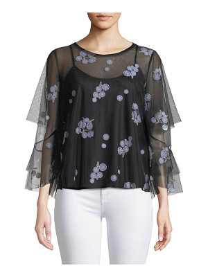 Kobi Halperin Sully Floral-Embroidered Blouse