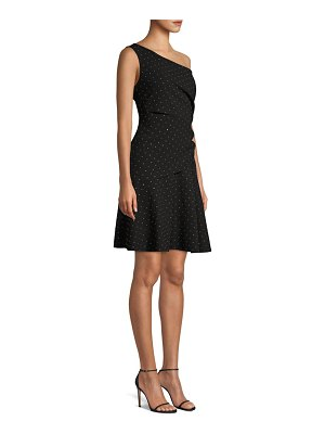 Kobi Halperin Willow Studded One-Shoulder Dress
