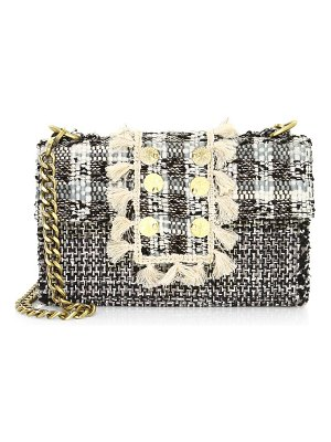 Kooreloo romeo tweed shoulder bag