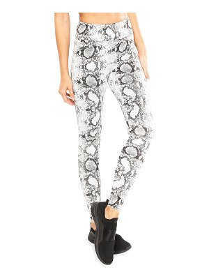 KORAL ACTIVEWEAR Drive Python Printed High-Rise Active Leggings