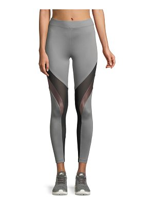 KORAL ACTIVEWEAR High-Rise Mesh Performance Leggings