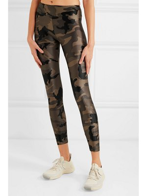 KORAL ACTIVEWEAR lustrous camouflage-print stretch leggings
