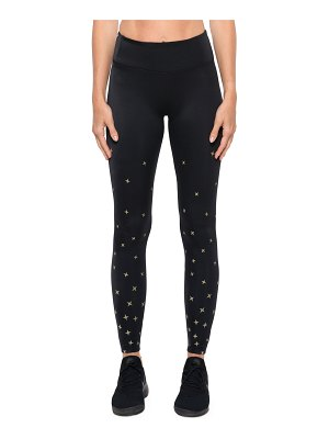 KORAL ACTIVEWEAR Stellar High-Rise Star-Print Performance Leggings