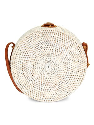 Koret Rattan Circle Shoulder Bag