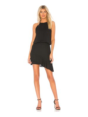 krisa Halter High Low Mini Dress