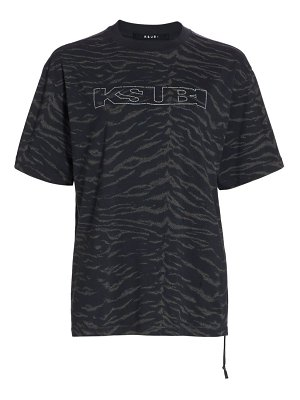 Ksubi white noise t-shirt