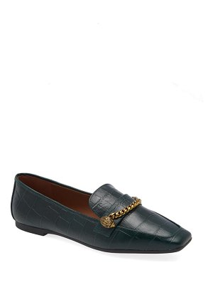 Kurt Geiger London camilla croc embossed loafer