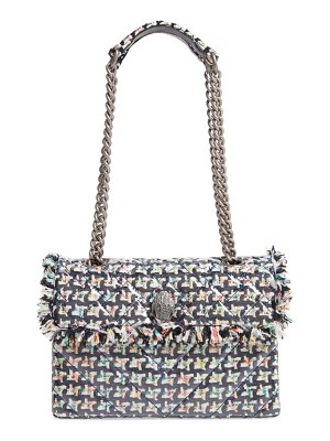 Kurt Geiger London kensington coated tweed shoulder bag