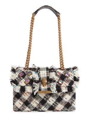 Kurt Geiger London kensington x tweed shoulder bag