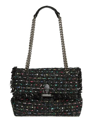 Kurt Geiger London large kensington tweed shoulder bag