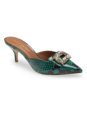 Kurt Geiger London pia jewel mule