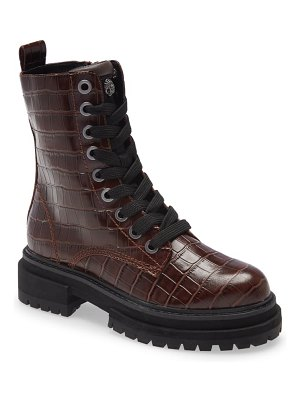 Kurt Geiger London silva combat boot
