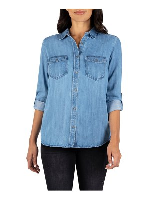 KUT from the Kloth brielle button-up shirt