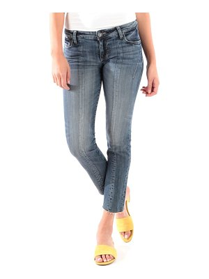 KUT from the Kloth catherine raw hem ankle straight leg jeans