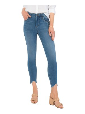 KUT from the Kloth connie ab fab high waist frayed ankle skinny jeans