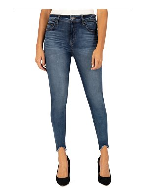 KUT from the Kloth connie fab ab high waist ankle skinny jeans
