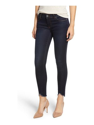 KUT from the Kloth connie frayed ankle skinny jeans