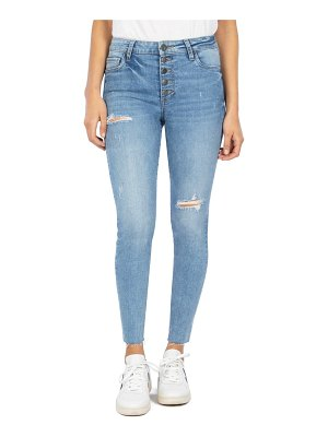 KUT from the Kloth connie high waist ankle skinny jeans