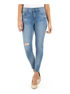 KUT from the Kloth connie ripped high waist ankle skinny jeans