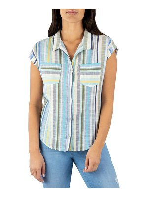 KUT from the Kloth dorrie button-up top