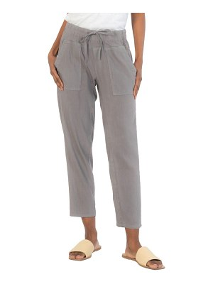 KUT from the Kloth drawcord waist crop pants