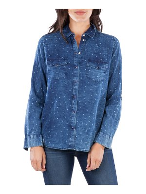 KUT from the Kloth harlow long sleeve button-up shirt