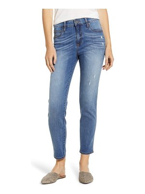 KUT from the Kloth high waist ankle cigarette jeans