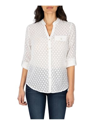 KUT from the Kloth lucero polka dot top