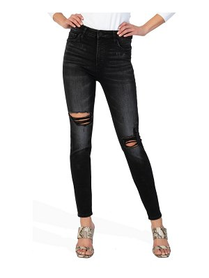 KUT from the Kloth mia toothpick fab ab ripped high waist skinny jeans