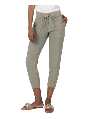 KUT from the Kloth mirabella crop joggers