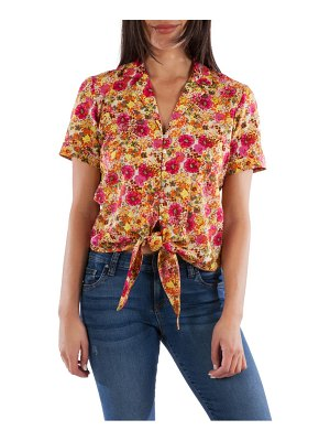 KUT from the Kloth penelope floral camp shirt