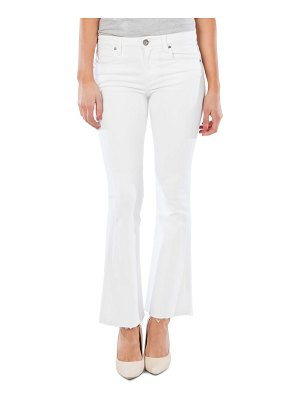 KUT from the Kloth stella fray hem flare jeans