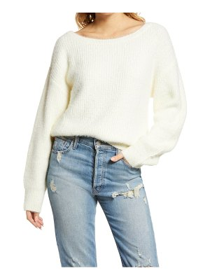 KUWALLA off the shoulder sweater