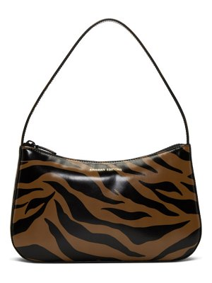 Kwaidan Editions brown and black tiger lady bag