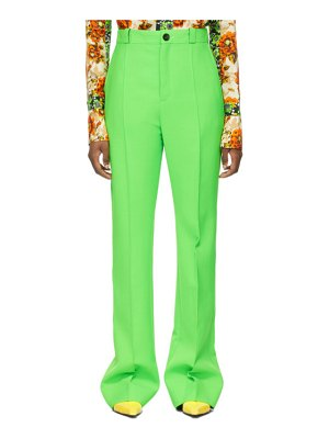 Kwaidan Editions double-faced wool trousers