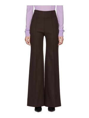 Kwaidan Editions Flared Leisure Suit Trousers