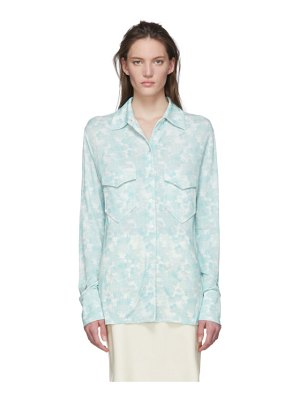 Kwaidan Editions multicolor slim button shirt