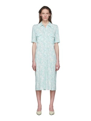 Kwaidan Editions multicolor slim shirt dress